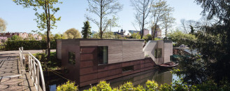 Private Heaven on Water Next to Busy Cycling Route: ParkArk in Utrecht