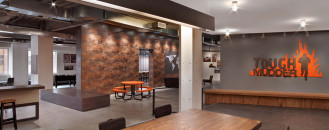 Raw and Sophisticated Design for Tough Mudder's Brooklyn Headquarters