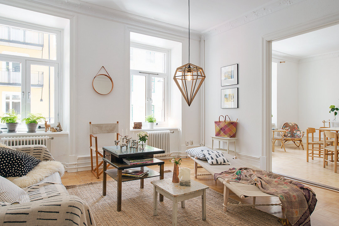 Swedish Apartment Revealing One Cozy Corner After Another