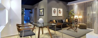 Residential Interior Showroom Evoking an Urban Feel: life.style.galleria