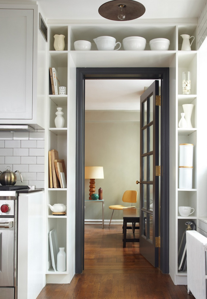 Use Your Walls To Advantage With Vertical Storage Image Via Bevan Associates