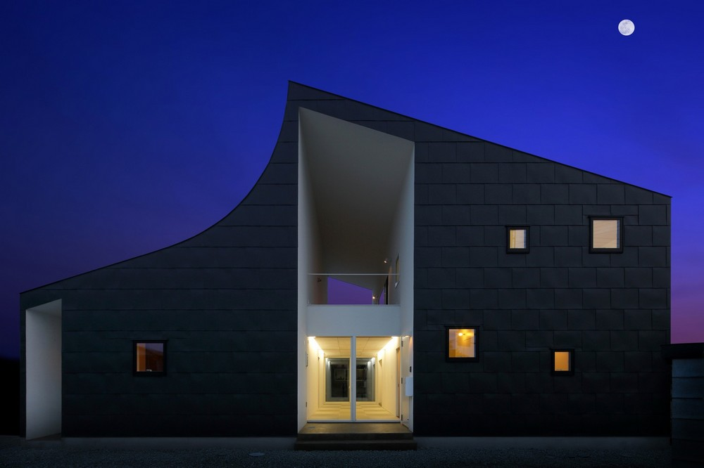 Ingeniously Planned Two Family Residence In Yamagata Prefecture