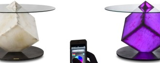 Avant-Garde Cupiditas Table Controllable by Smartphone or Tablet