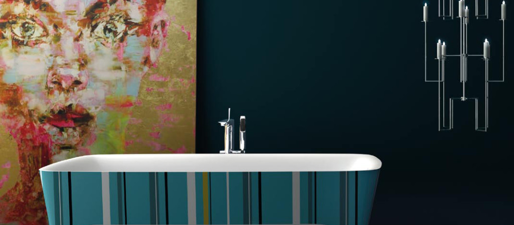Color for Modern Bathrooms: Pop Limited Edition Accademia Bathtub [Video]