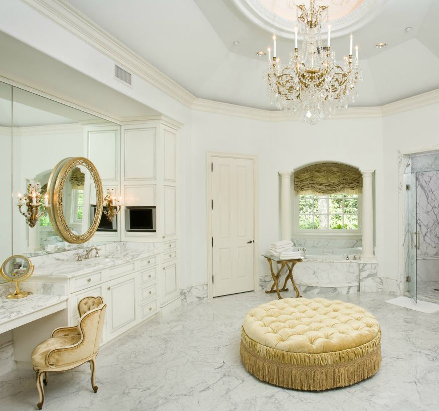Marble Bathrooms: 30 Marble Bathroom Design Ideas Styling Up Your Private