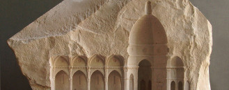 Arresting Miniature Architectural Details Carved in Stone and Marble