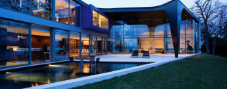 Outdoor-Oriented Dream Home/Office Implants Modern African Aesthetic in Switzerland