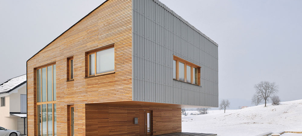 SpaciousSingle-Family Home in Slovenia Built on a Compact 33 Square Meter Footprint