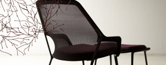 Spaciousand CozyModern Armchair Defined By a Lightweight Structure