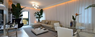 Cosmopolitan Shanghai Apartment Delivering a Fresh State of Mind