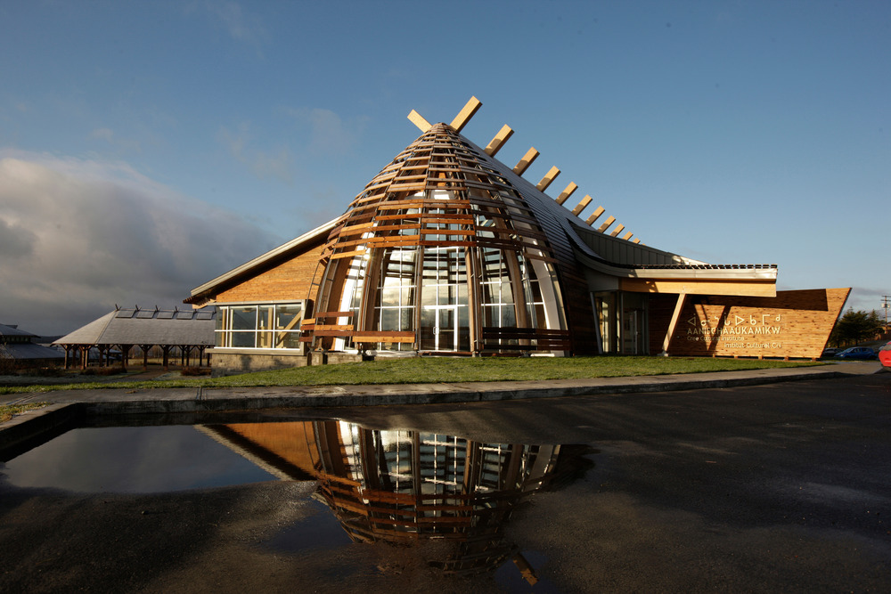Contemporary Architecture At Its Best Cree Cultural Institute In