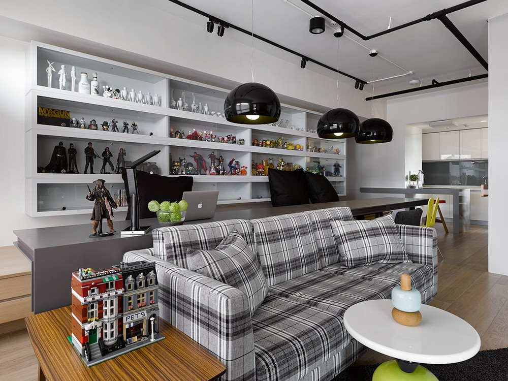 Café-like Atmosphere Exuded by Original Apartment in Taiwan