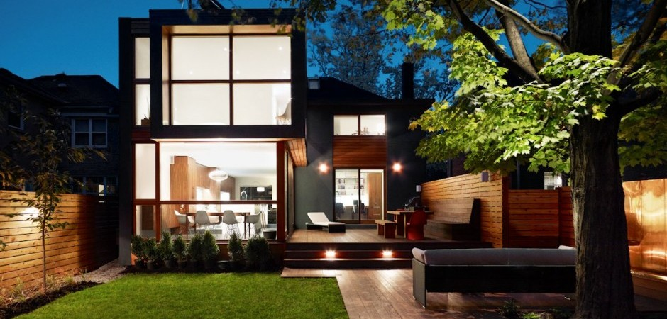 Post-War House Converted Into Modern Residence in Canada
