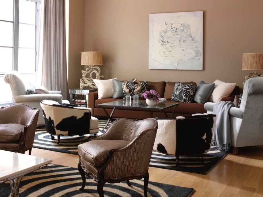 Notice All The Texture Used In This Room. There Is Silk, Cotton, Brushed  Suede, Zebra And A Touch Of Shimmer. Image Source: Tara Sea Wright