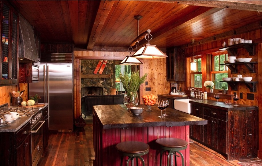 10 Rustic Kitchen Designs That Embody