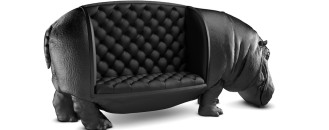 Baffling the Mind: Hippopotamus Chair by Maximo Riera
