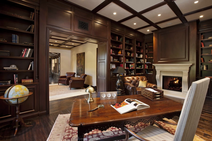 30-Clic-Home-Library-Design-Ideas-13 Liry Home Designer Suite on