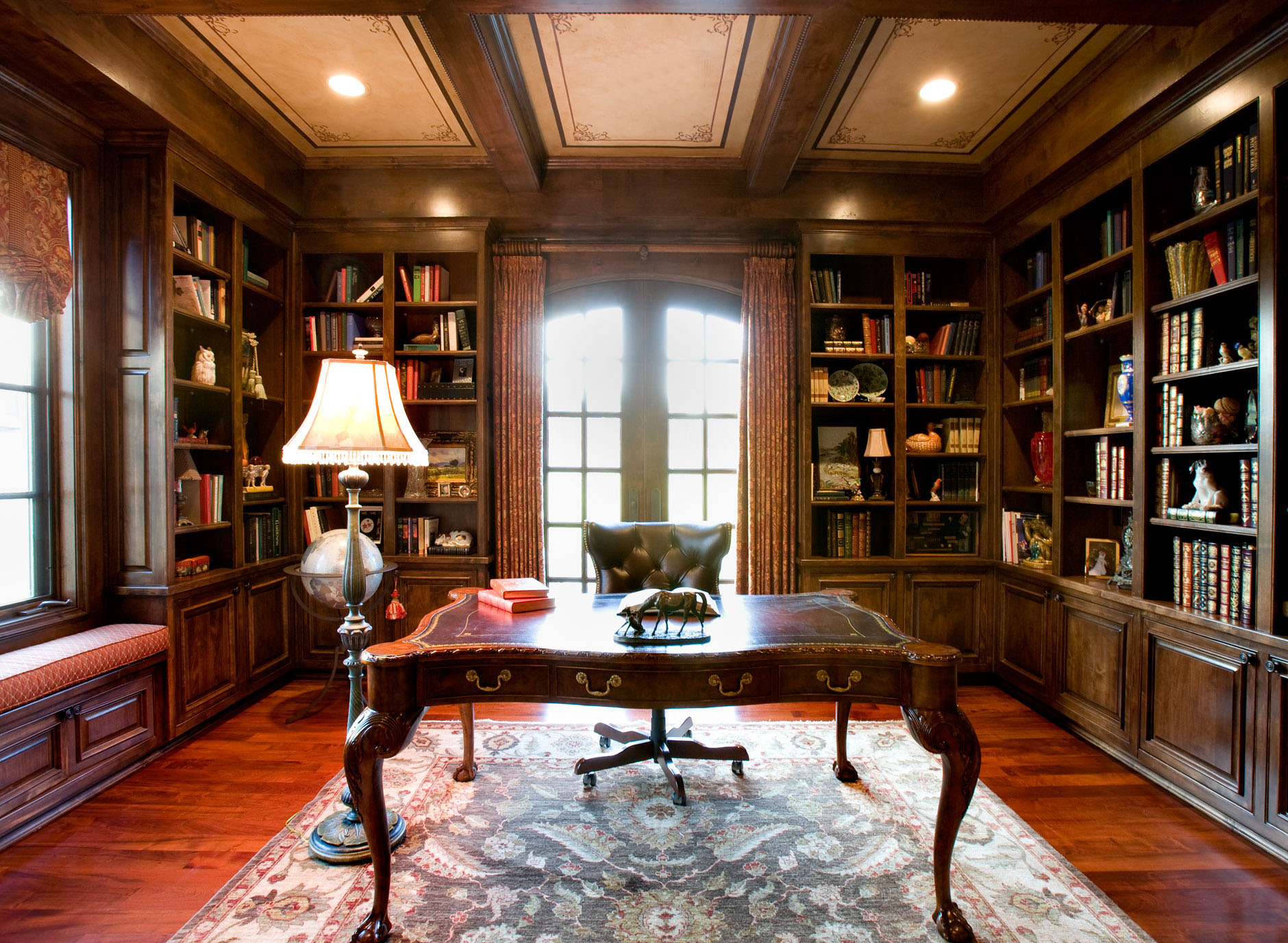30 Classic Home Library Design Ideas (15)