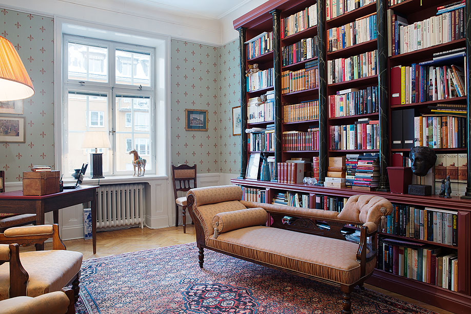 Merveilleux Collect This Idea 30 Classic Home Library Design Ideas (16)