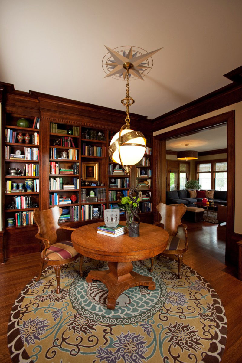 Small House Library Room Designs