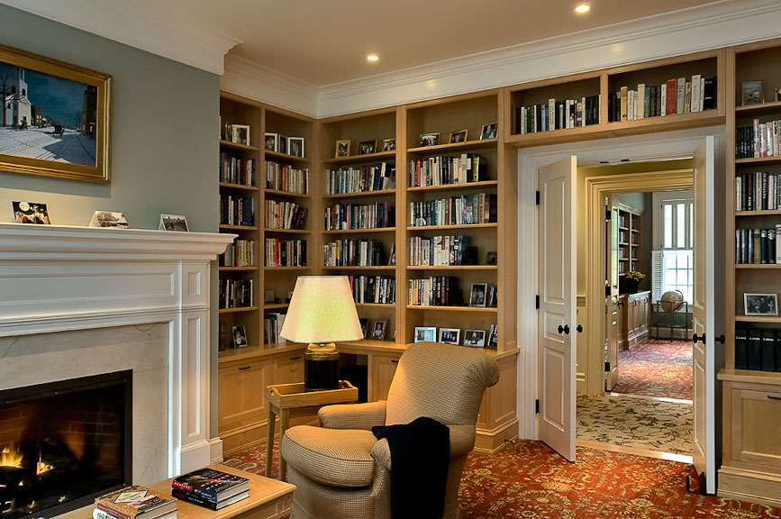 Classic Home Library Design Flisol Home
