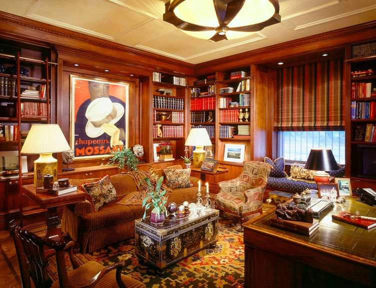 Collect This Idea 30 Classic Home Library Design Ideas (22)