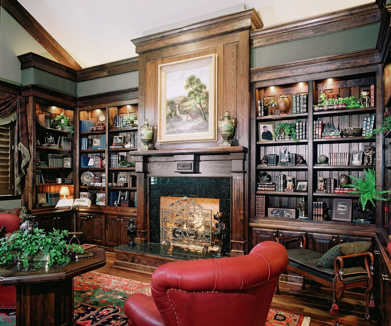 30 Classic Home Library Design Ideas (9)