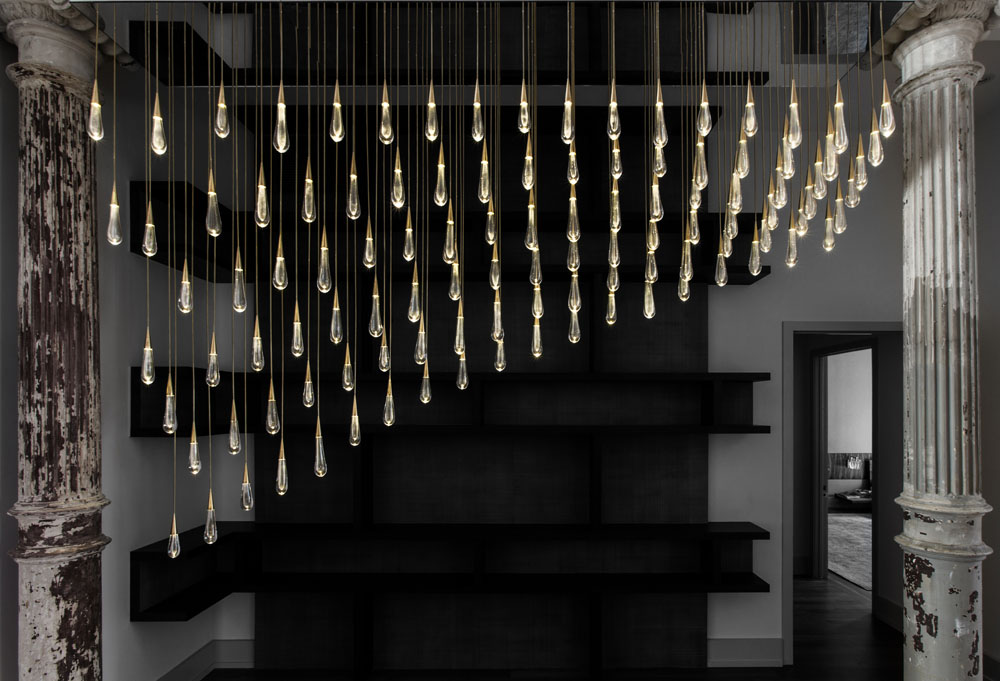 Design Haus Liberty S Staggering Light Sculpture Made From