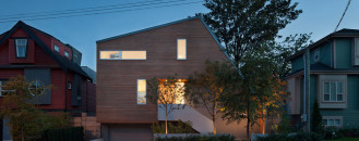 Asymmetric House in Canada Flaunts Surprising Design Solutions for Modern Living