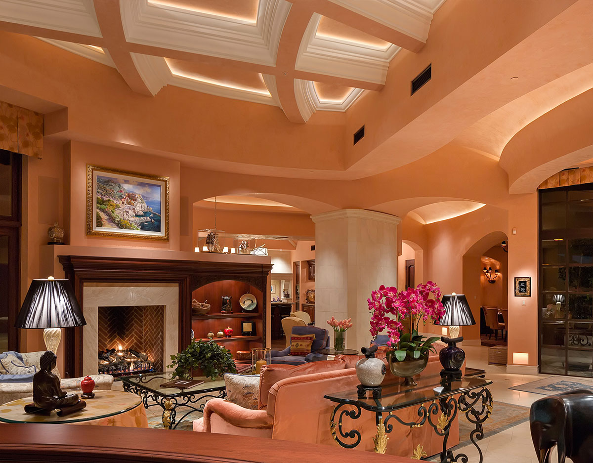 Stupendous Remarkable Home Overlooking A Golf Course In Arizona Where Home Remodeling Inspirations Propsscottssportslandcom