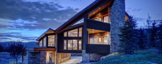 Architecture Asymmetry in the Service of Comfortable Living: Park City Residence