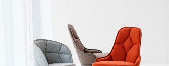Elegantly Connected: EMMA and EMILY Padded Chair Designs by Färg & Blanche