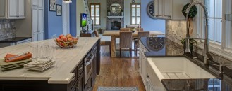 Builder-Grade Kitchen Converted Into Top-Of-The-Line Cooking Venue