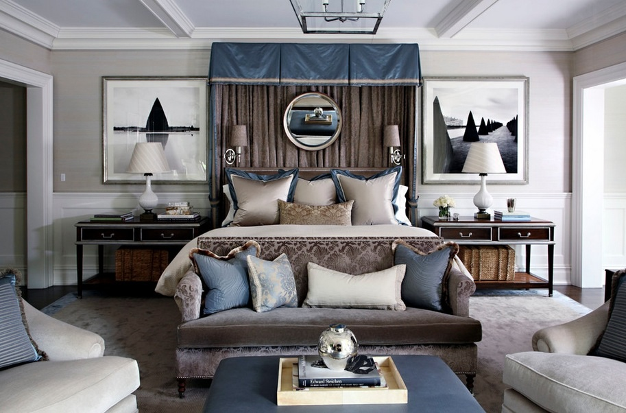 Think about what makes you feel like you're luxuriating. Image Via: S. B. Long Interiors
