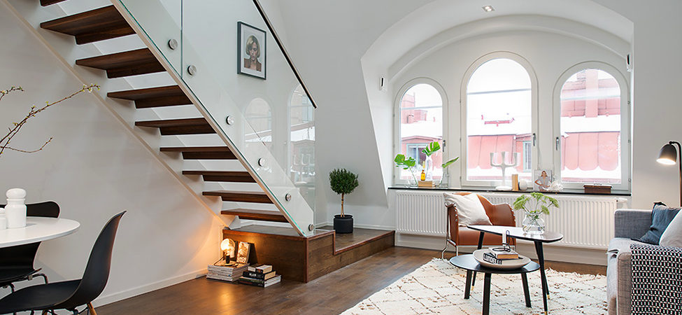 Charming Apartment in Central Stockholm Infused With Light