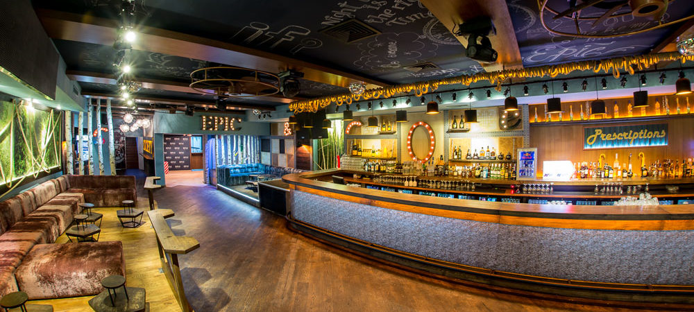 Eclectic Club Design Originating Unforgettable Nights : Epic Society in Timisoara