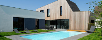 New Wooden House Extending Living Outdoors Salutes Modern Family Life