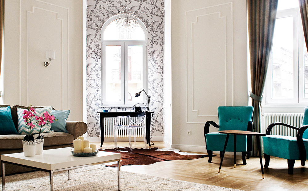 Tastefully Renovated 19th Century Apartment Exuding A
