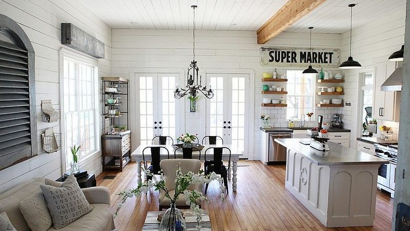 Enchanting Farmhouse Design in the Heart of Texas by Magnolia Homes