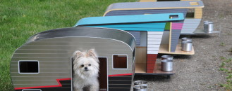Cool Dog House Upgrade: Instantly-Endearing Pet Trailer Design