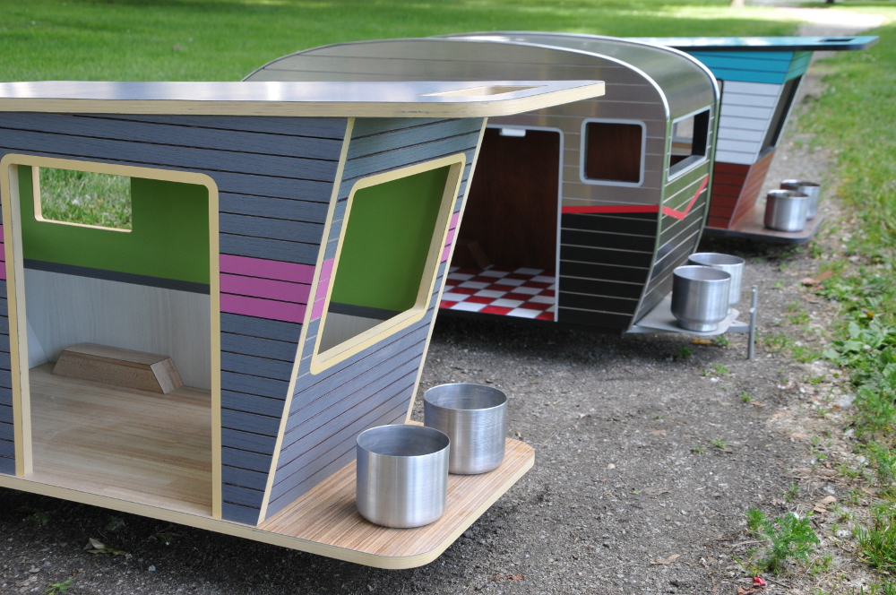 Cool Dog House Upgrade Instantly Endearing Pet Trailer Design