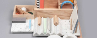 Elegant Office Unit With Secret Opening Mechanism: Storage Kit Shkatulka