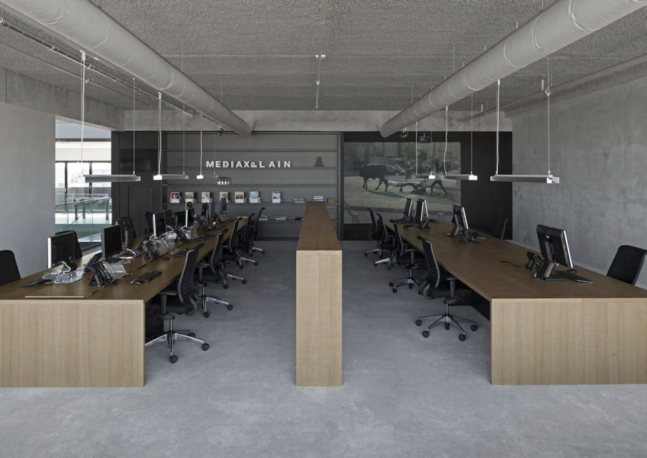 industrial office white collect this idea modern office design 5 bold industrial office design for media agency freshomecom