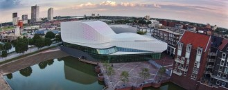 New Colossal Mixed-Use Performance Space in The Netherlands: Theatre Spijkenisse [Video]