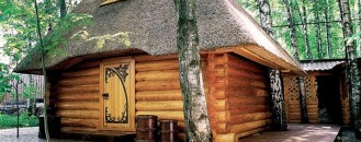 Charming Details Exhibited by Original Fairytale Sauna in Russia