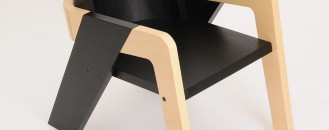 Elegant Self-Assembly IO Chair Designed for Introspection and Daydreaming