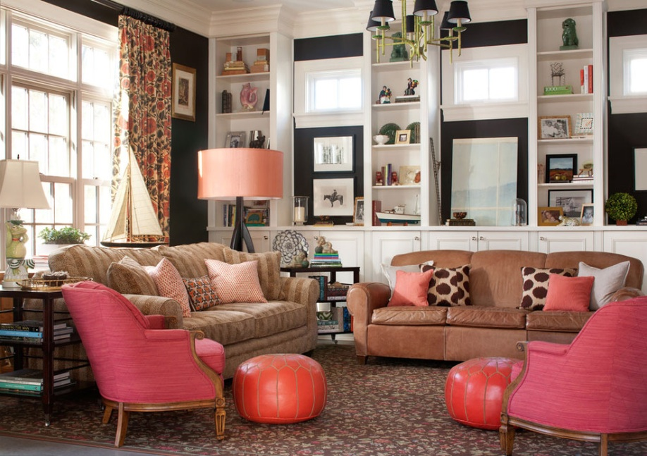 Latest Trend Paintings For Living Room pink and black room