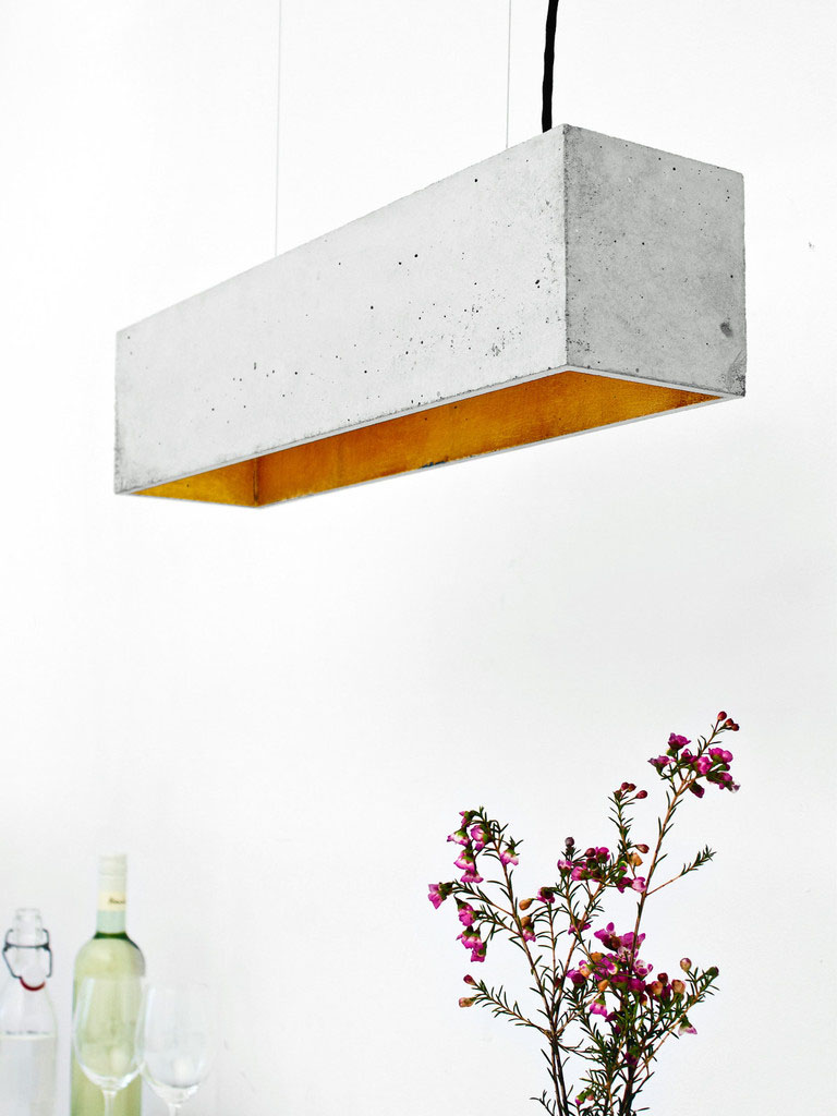 Raw Concrete Pendant Lamps Pouring Warmth And Elegance