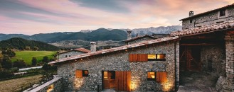 Historic Farm Converted Into Welcoming Contemporary Retreat in La Cerdanya, Spain