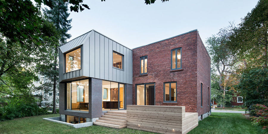Adding Space and Elegance to Outdated 1920s Housein Montreal
